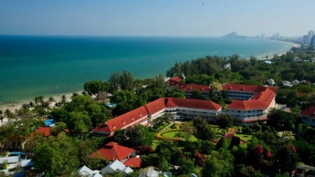 Centara Grand Beach Resort & Villa's Hua Hin - Golf-vakantie.nl