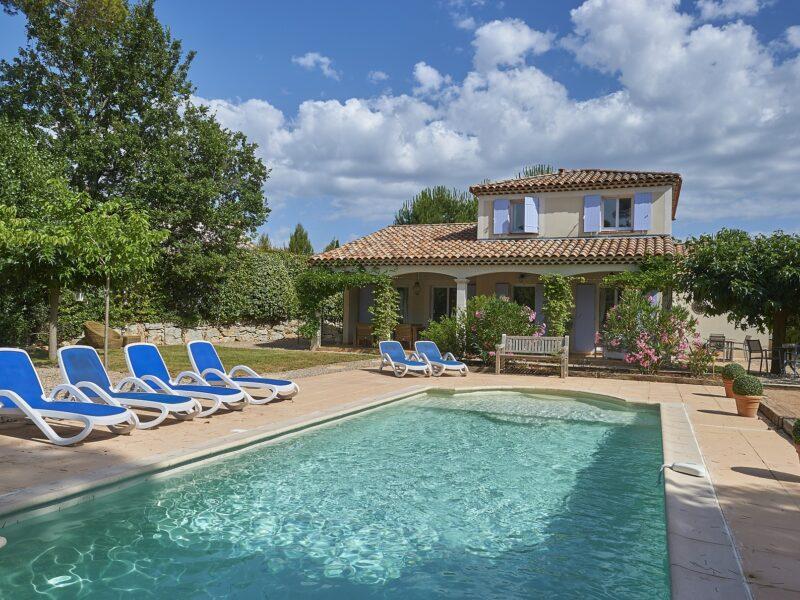 Villa 6 pers. vrijstaand met zwembad - Golf-vakantie.nl